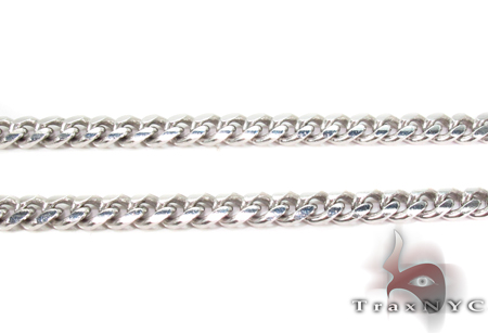 14K Gold Miami Chain 22 Inches 4mm 30.6Grams Gold