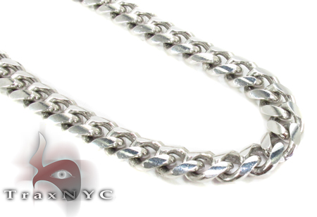 14K Gold Miami Chain 24 Inches 6mm 66Grams Gold
