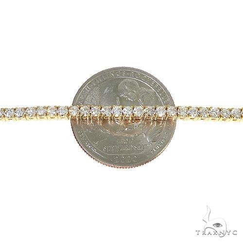 14K Gold Parcel Diamond Tennis Bracelet 67129 Tennis