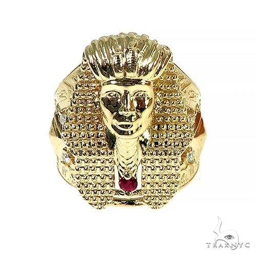 14K Gold Pharaoh Ring 66585 Metal