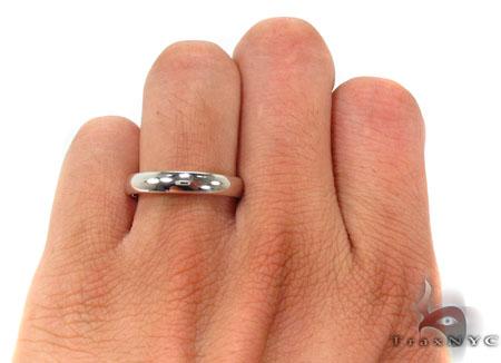 14K Gold Plain Ring 31741 Style
