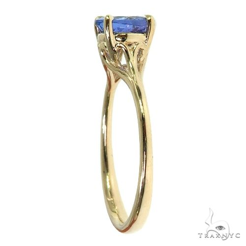 14K Gold Tanzanite Solitaire Engagement Ring 66423 Engagement