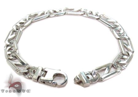 14K Gold Tiger Eye Bracelet 31279 Gold