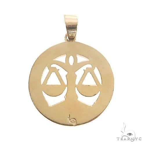 14K Gold Zodiac Sign Pendant 66723 Metal