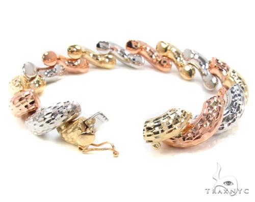 14K Multi-Color Bracelet 34948 Gold