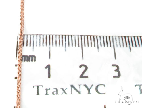 14K Rose Gold Chain 18 Inches, 2mm, 3.1 Grams Gold