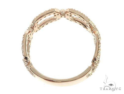 14K Rose Gold Fashion Diamond Ring 65690 Anniversary/Fashion