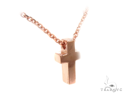 14K Rose Gold Necklace36026 Gold