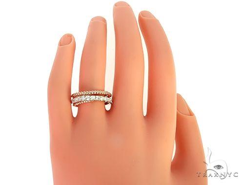 14K Rose Gold Women Diamond Fashion Ring 65972 Anniversary/Fashion