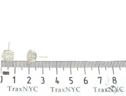14K Gold Cluster Stud Earrings 65853 Style
