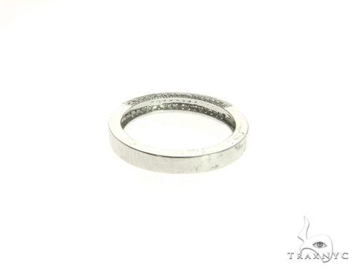 14K White Gold Micro Pave Diamond Ring 63579 Stone