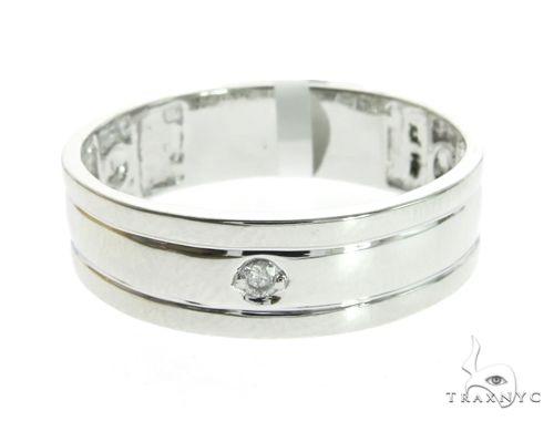 14K White Gold Micro Pave Diamond Ring 63606 Stone