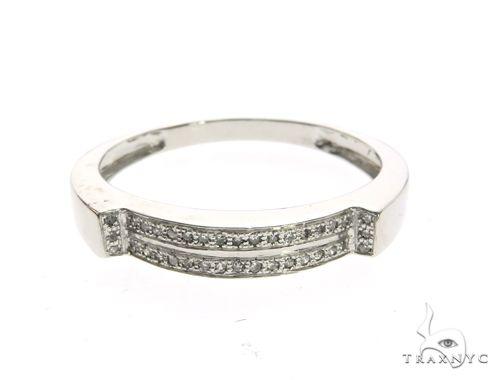 14K White Gold Micro Pave Diamond Ring 63649 Stone