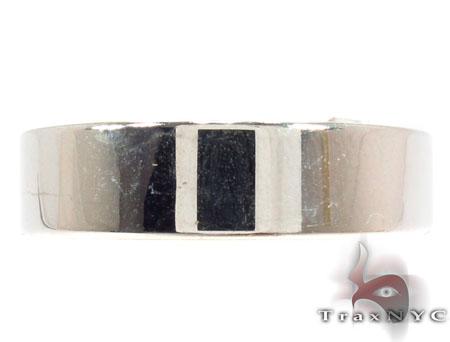 14K White Gold Plain Ring 31733 Style