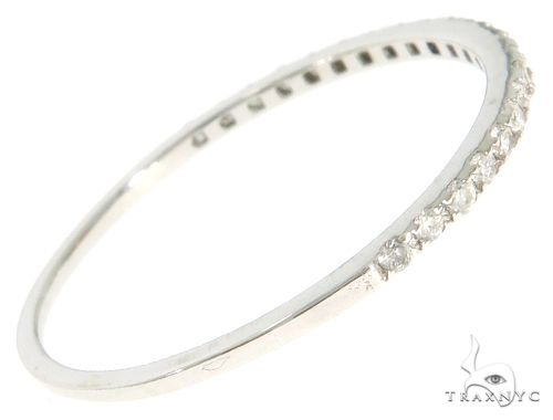 14K White Gold Prong Diamond Wedding Ring 61499 Wedding