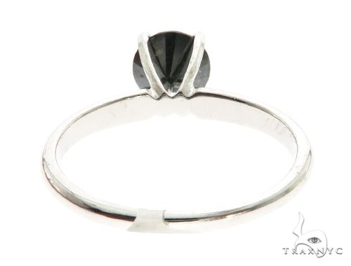 14K White Gold Prong Ring 63721 Anniversary/Fashion