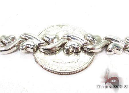 14K White Gold Swivel Bracelet Gold