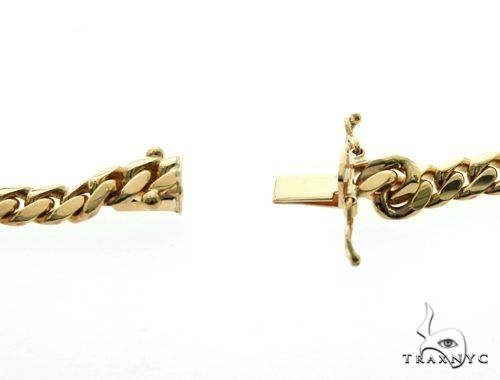 14K YG Miami Cuban Link Chain 64557 Gold