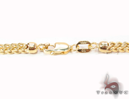 14K Yellow Gold Franco Chain 28 Inches 3mm 14.50 Grams Gold