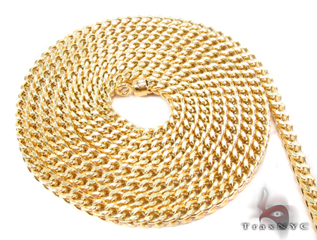 14K Yellow Gold Franco Chain 28 Inches 3mm 15.2 Grams Gold