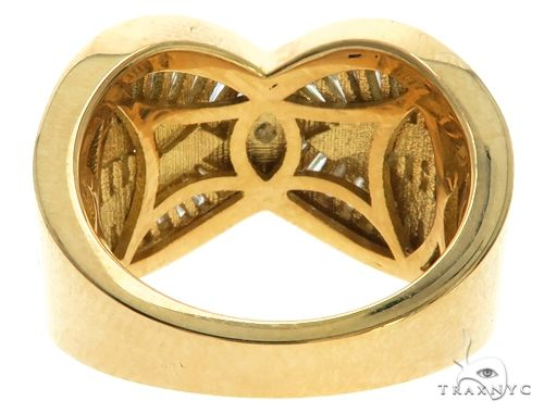 14K Yellow Gold Baguette Cut Channel Diamond Ring 63185 Anniversary/Fashion