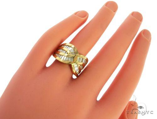14K Yellow Gold Baguette Cut Channel Diamond Ring 63185 Anniversary/Fashion