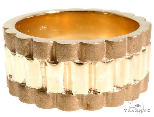 14K Yellow Gold Band 63969 Metal