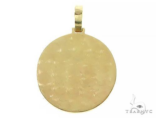 14K Yellow Gold Custom Diamond Holographic Prism Photo Pendant 65759 Style