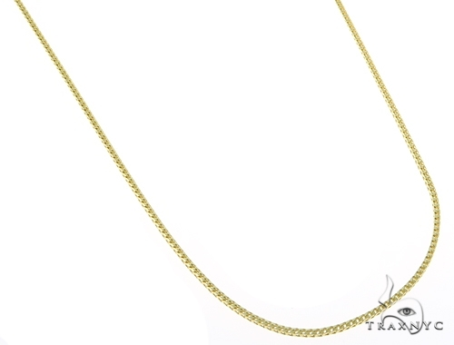 14K Yellow Gold Franco Chain 18 Inches, 1mm, 4.1Grams Gold