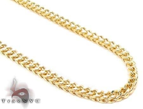 14K Yellow Gold Franco Chain 26 Inches 3mm 12.75 Grams 65540 Gold