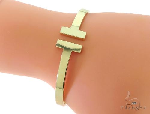 14K Yellow Gold Ladies Charming Bracelet 56966 Gold