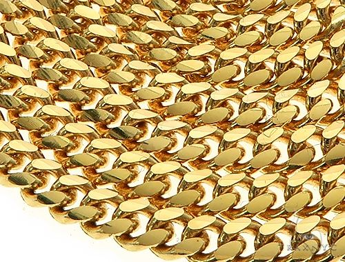 14K Yellow Gold Miami Cuban Link Chain 24 Inches 2.6mm 14.00 Grams 66038 Gold