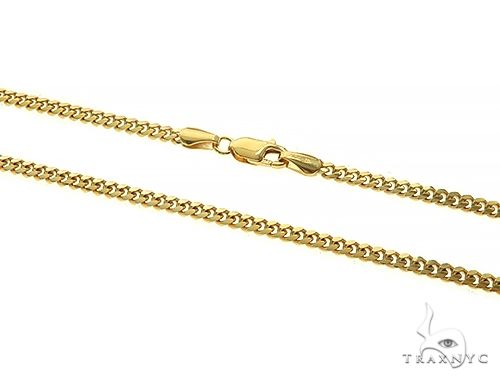 14K Yellow Gold Miami Cuban Link Chain 26 Inches 2.6mm 15.00 Grams 66040 Gold