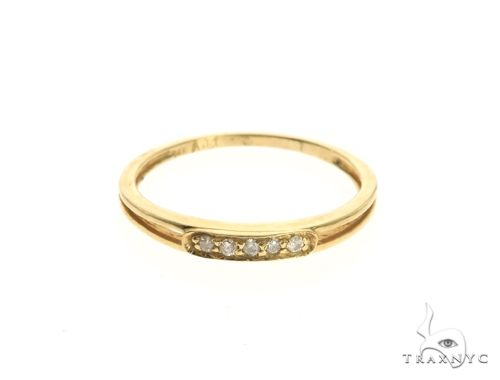 14K Yellow Gold Micro Pave Diamond Ring 63643 Engagement