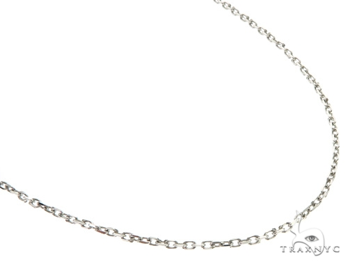 14KW Cable Chain 20 Inches 1mm 3.8 Grams 58458 Gold