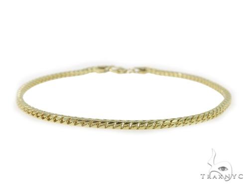 14K Yellow Franco Gold Bracelet 49502 Gold