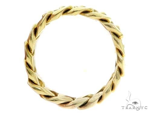 14k Gold 6mm Miami Cuban Link Ring 64717 Metal