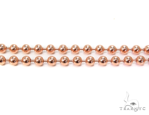 14k Gold Ball Chain 24 Inches 4mm 29.9 Grams 40784 Gold