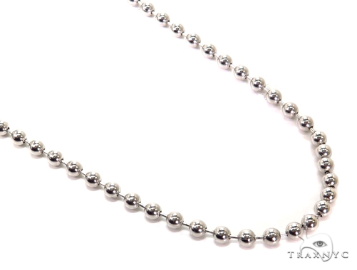 14k Gold Ball Chain 32 Inches 5mm 52.3 Grams 40786 Gold