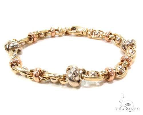 14k Gold Bracelet 36406 Gold