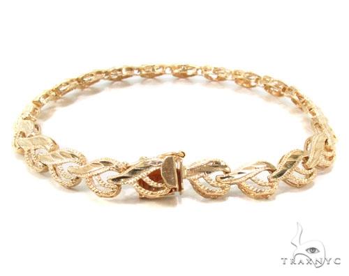 14k Gold Bracelet 36408 Gold