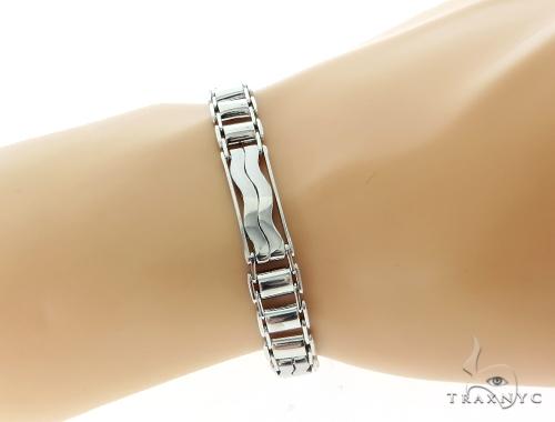 14k White Gold Bracelet 49662 Gold