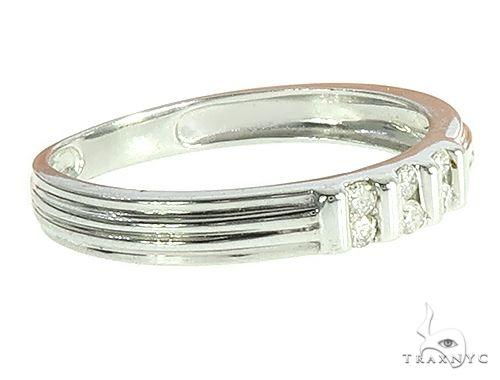 14k White Gold Diamond Band 65816 Stone