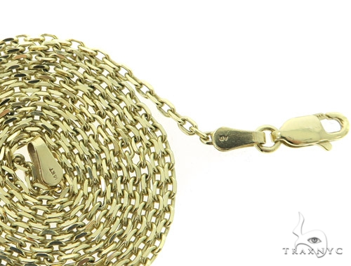 14k Yellow Gold Cable Chain 30 Inches 2mm 9.4 Grams 49473 Gold