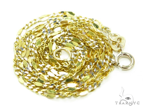 14k Yellow Gold Chain 16 Inches 2mm 1.6 Grams Gold