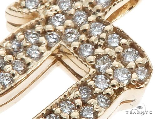 14k Yellow Gold Diamond Pendant 64645 Metal
