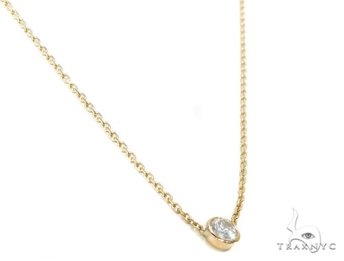 14k Yellow Gold Necklace-39998 Gold