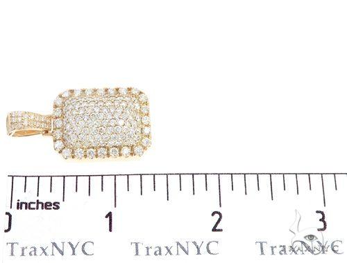 14k Yellow Gold Diamond Pendant 64957 Metal
