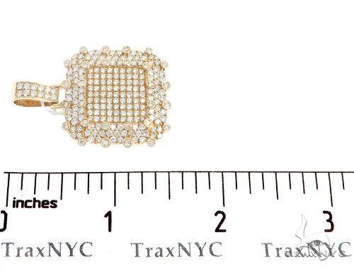 14k Yellow Gold Diamond Pendant 64958 Metal