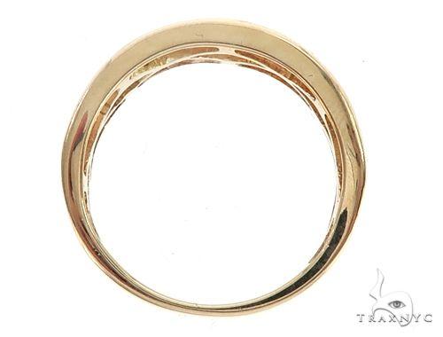 14k Yellow Gold Diamond Wedding Band 65068 Stone